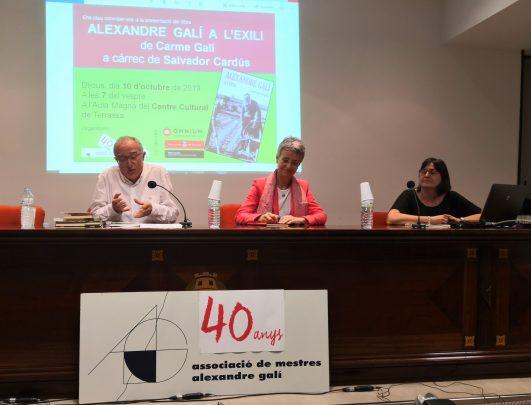 """Presentació del llibre """"Alexandre Galí a l'exili"""""""