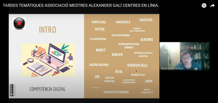 Centres en línia, amb Oscar Garcia i Nicolau